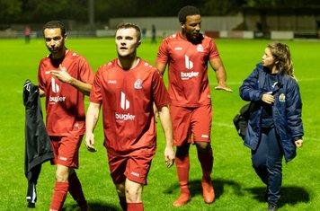 Luke Warner-Eley scored his first goal for Borough