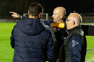 Manager Steve baker shows the way