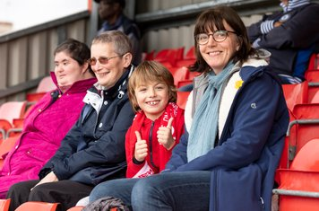 Two welcome new supporters for harrow Borough