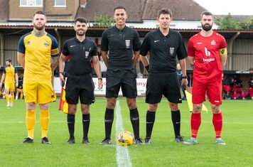 The Officials and Captains
