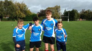 Aire U14s represent Central Yorkshire