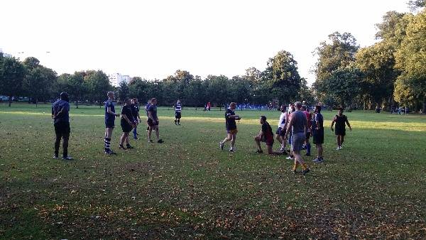 Contesting a ruck 2