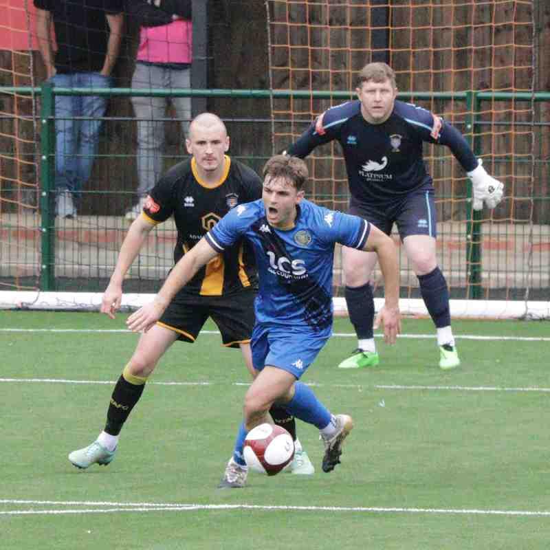 Away v Morpeth Town FC