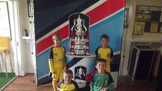 U8's win the FA Cup