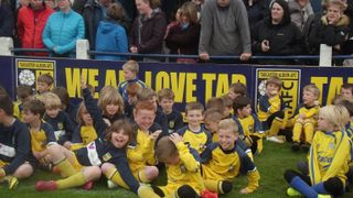 Tadcaster Albions JFC Presentation day