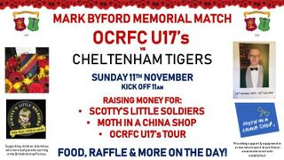 Mark Byford Memorial Match