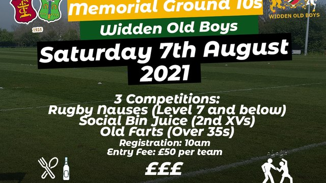 Memorial Ground 10s Tournament