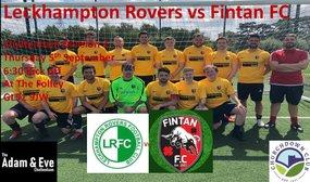 Leckhampton Rovers 3  Fintan FC 2