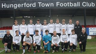 Hungerford Town U18's Celebration