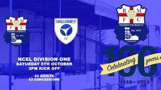 Rossington Main vs Swallownest FC