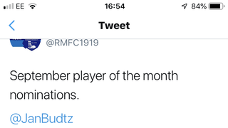 Josh Gelder - Player of the month