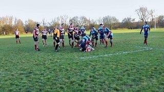 WRFC 2nd XV vs Weston 1st XV - 13/12/14