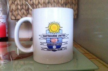 My eastbourne united mug especailly made for me