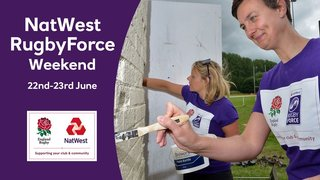 NatWest Force Rugby weekend 22-23 June