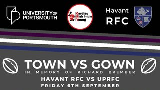 Town vs Gown - September 6th