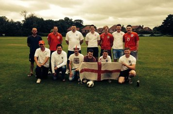 First XI England Supporters 2014