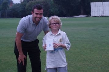 U10 Most Improved Player of the Year 2014 - Oscar Hodges