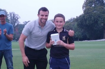 U10 Player of the Year 2014 - Isaac Hewetson