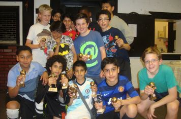 Presentation Evening. May 2014 u12b