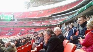 Ozzies Wembley trip