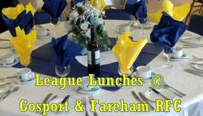Additional League Lunch on Saturday 19th January