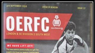 Old Emanuel vs Gosport & Fareham RFC