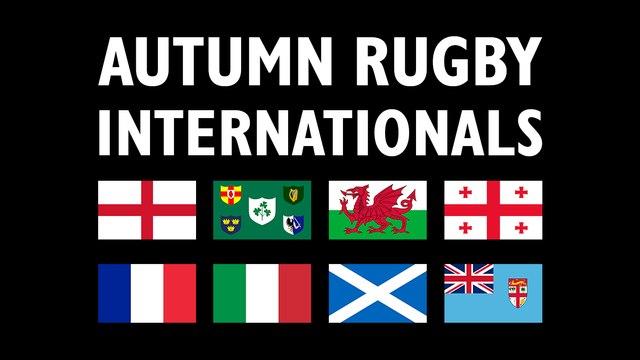 Watch the Autumn Internationals