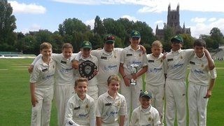 Barnt Green Under 12's win at New Road