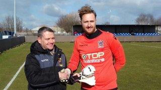 Ryan Jones named NWCFL Goalkeeper of the Month for April