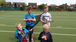 Orange A team tennis