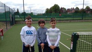 Green B team tennis