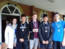 Boys Junior Cheshire Shield Runners Up