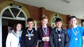 Boys Junior Cheshire Shield Runners Up