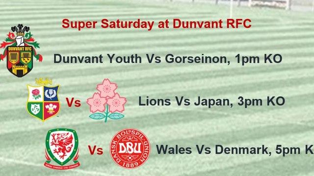 Super Saturday at Dunvant RFC
