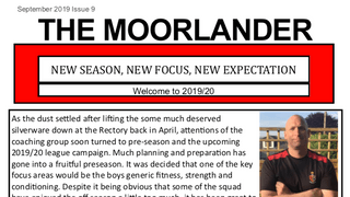 New Moorlander Issue No. 9 available NOW!