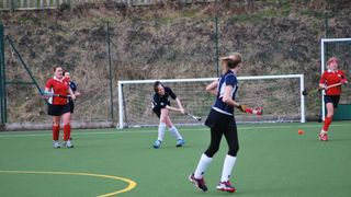 Ladies' 3s vs Oxted - last match 14/15 season