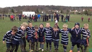 U7 Tigers Win at Old Beccehamians Festival!
