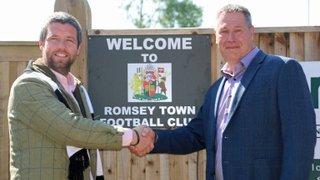 Romsey Town secure major Partner Sponsor