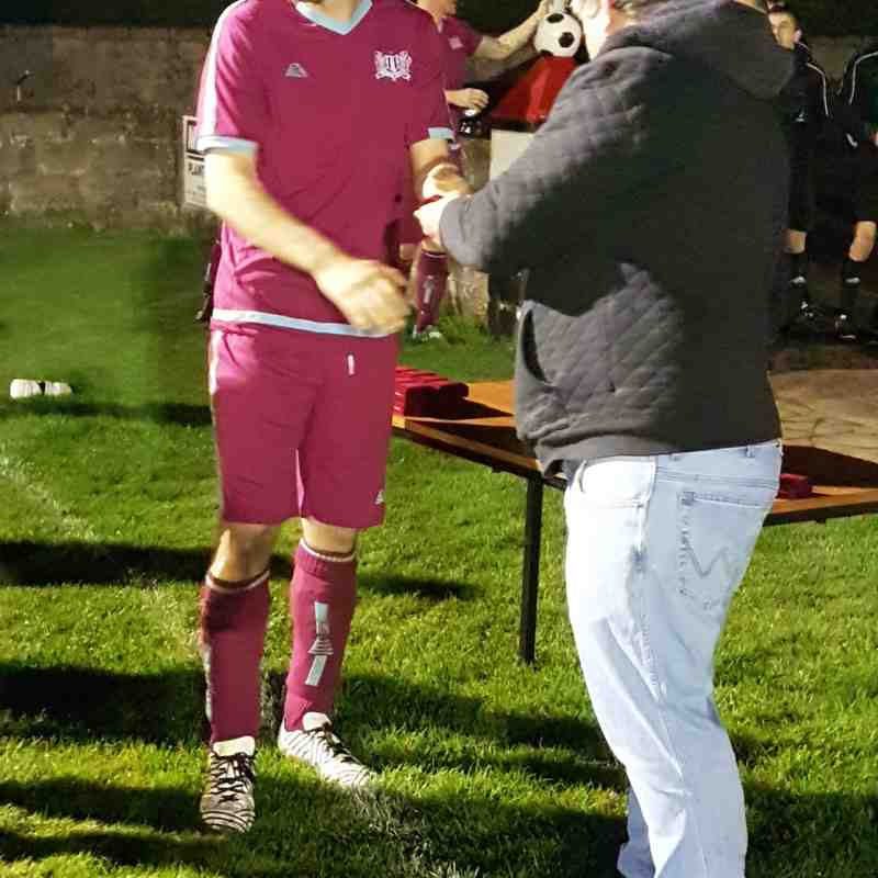 Brucklay Cup Runners Up Clinton Thistle