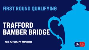 NEXT MATCH: Trafford v Bamber Bridge (07/09/19)