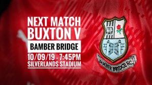 NEXT MATCH: Buxton v Bamber Bridge (10/09/19)