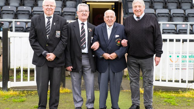 Brig committee members clock up 160 years service to non-league football!