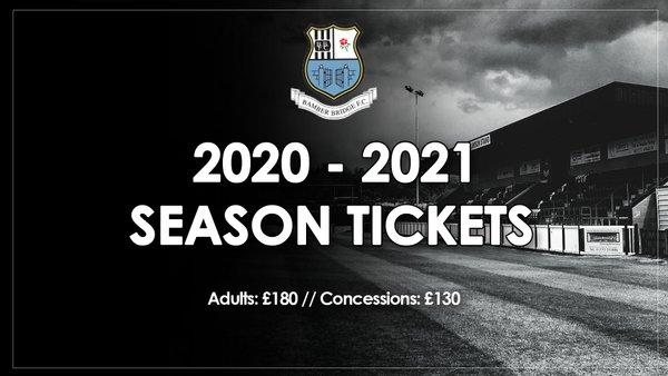 2020/21 Season Ticket