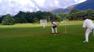 Oban CC vs Sannox CC August 27th 2011