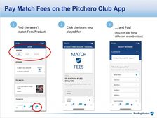 Online Match Fee Payment