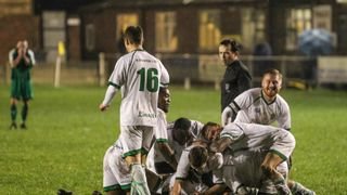 Burscough vs Northwich Vics by Marc Taylor