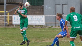 Burscough FC vs Hanley Town by Marc Taylor