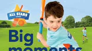 All Stars Cricket for 5 to 8 year old's returns for 2019 with TWO courses on Monday's & Friday's