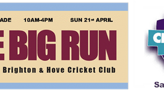 Dates for your Diary - CricketForce 6th April & The Big Run Fundraiser 21st April