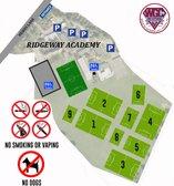 Ridgeway Academy (formerly Sir Frederic Osborn School) Pitch Locations